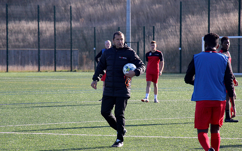 Colin Calderwood excited by growth potential in new role